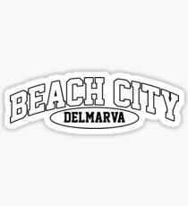 Beach City, Delmarva Sticker