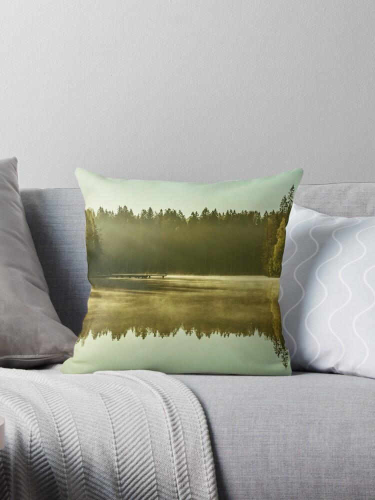 GAIA [Throw pillows] by Matti Ollikainen