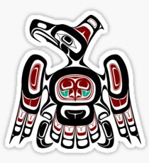Northwest Pacific coast Kaigani Thunderbird Sticker