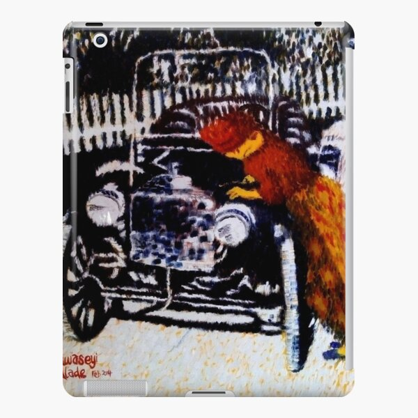 Iya Ojo cranks up her model T-Ford iPad Snap Case