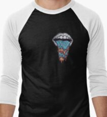 Hazy Mouth Collection Men's Baseball ¾ T-Shirt