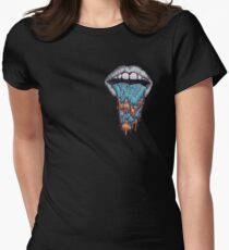 Hazy Mouth Collection Women's Fitted T-Shirt