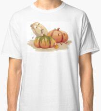 Halloween zombie pumpkin patch - Original art Classic T-Shirt