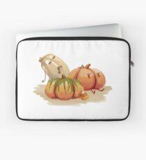 Halloween zombie pumpkin patch - Original art Laptop Sleeve