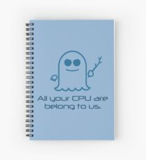Spectre: All Your CPU Spiral Notebook