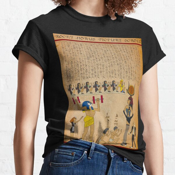 Rocky Horus Picture Scroll Classic T-Shirt