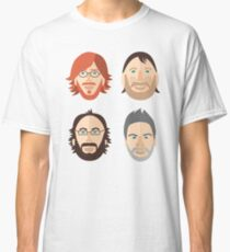 Trey, Fish, Mike, Page as Vector Characters Classic T-Shirt