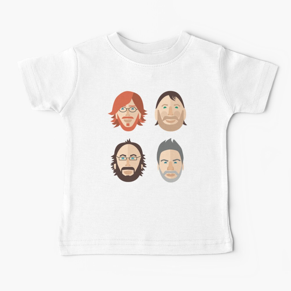 Trey, Fish, Mike, Page as Vector Characters Baby T-Shirt