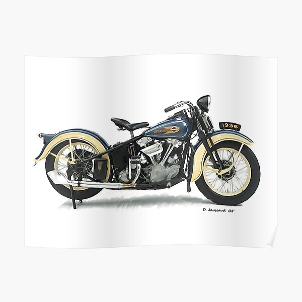 1936 Knucklehead Poster
