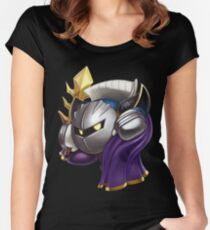 Meta Knight Women's Fitted Scoop T-Shirt