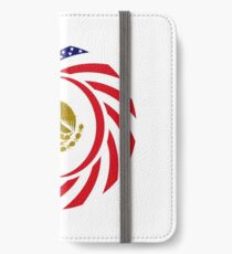 Mexican American Multinational Patriot Flag Series 1.0 iPhone Wallet/Case/Skin