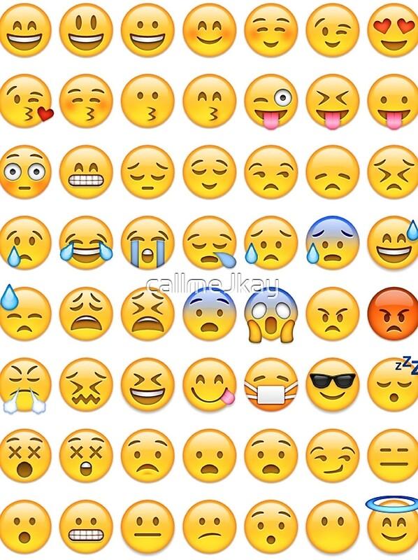All Faces Emoji Collage