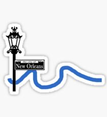 The City of New Orleans Sticker