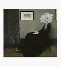 Whistlers Mutter Von Mr. Bean Fotodruck