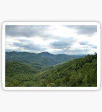 Above the Trees in Tennessee Sticker