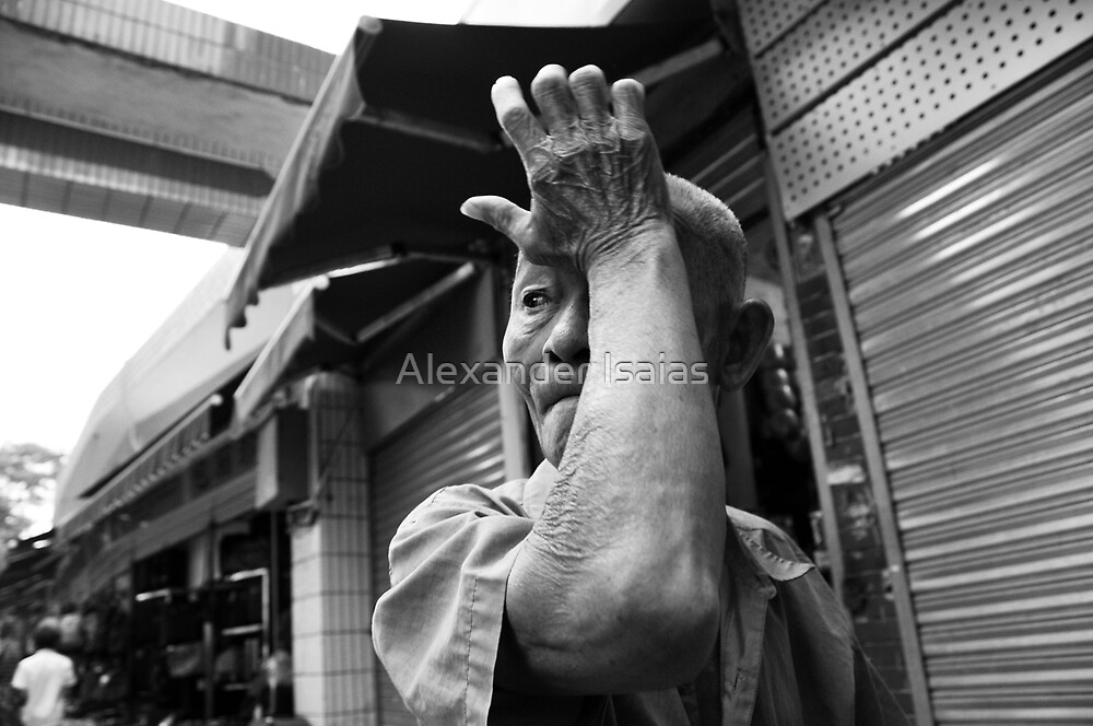 """Doleful eyes"" by Alexander Isaias"