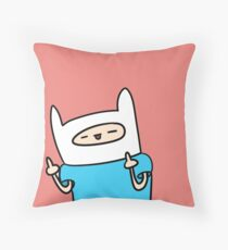 F-Off Finn Throw Pillow
