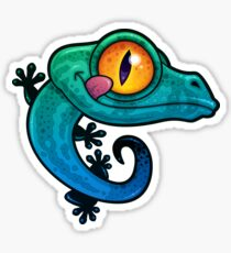 Gecko Sticker