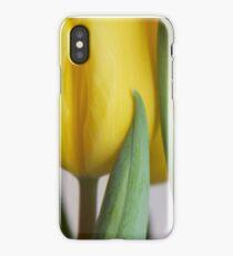 Yellow Tulips 3 iPhone X Case