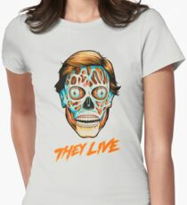They Live - Classic Movies Fitted T-Shirt