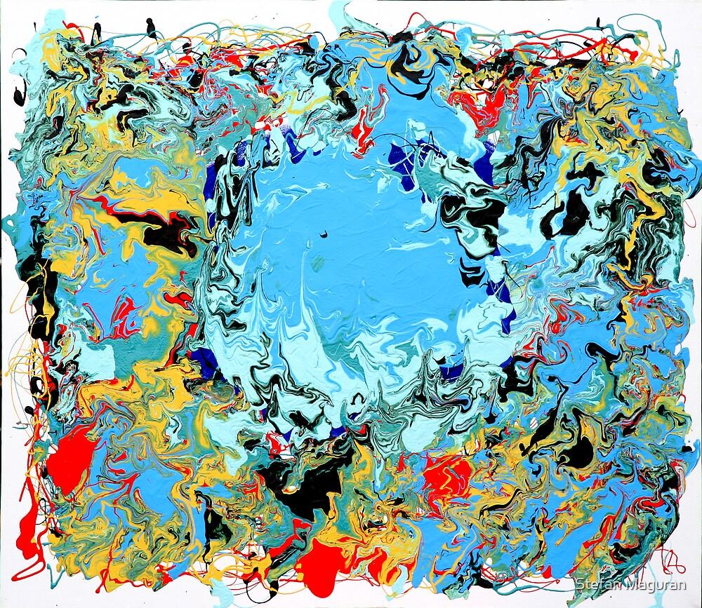 The Blue Lake by Stefan Maguran