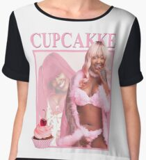 Retro CupcakKe  Chiffon Top