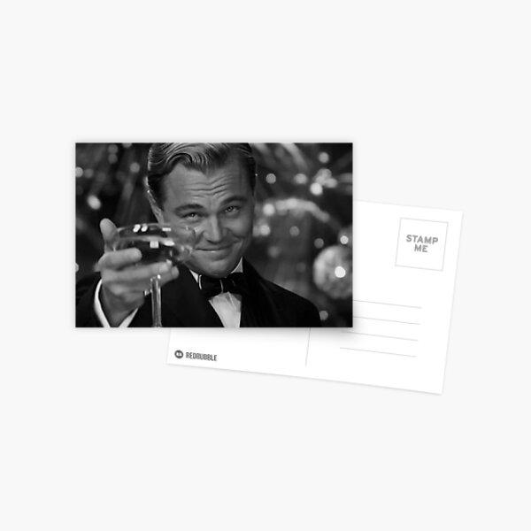 Leonardo DiCaprio Great Gatsby Postcard