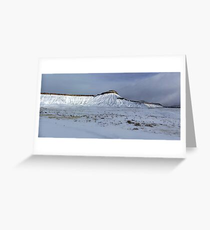 Mt. Garfield, Grand Junction, CO Greeting Card