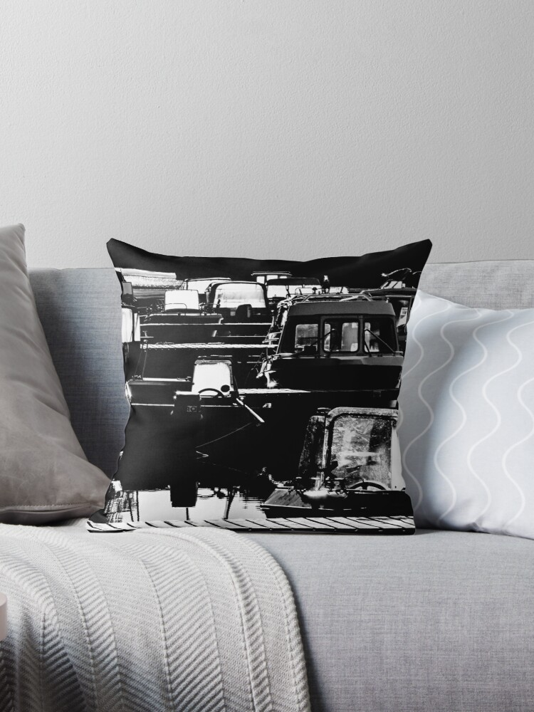 SECURED [Throw pillows] by Matti Ollikainen