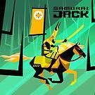 Last Ride of Samurai Jack (Gold) by artkarthik
