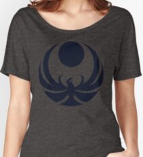 Nightingale Crest Faded Women's Relaxed Fit T-Shirt