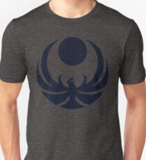 Nightingale Crest Faded Unisex T-Shirt