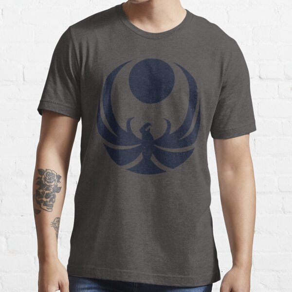 Nightingale Crest Faded Essential T-Shirt