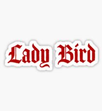 ladybird logo Sticker