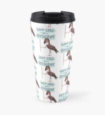 lady bird for president! Travel Mug