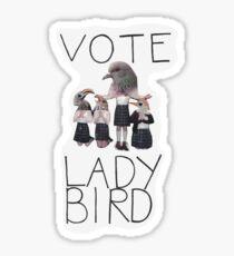 ABSTIMMUNG LADYBIRD Sticker