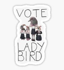 VOTE LADYBIRD Sticker