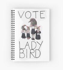 VOTE LADYBIRD Spiral Notebook