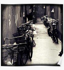 OLD SHANGHAI - Bike Lane Poster