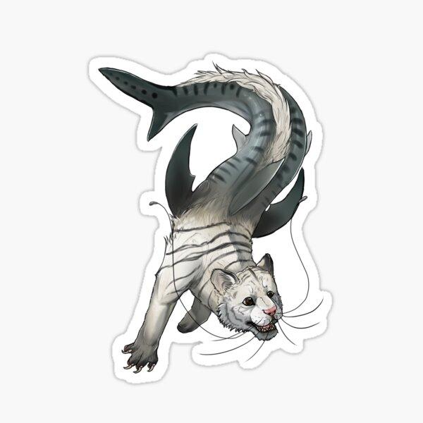 Tigershark Sticker