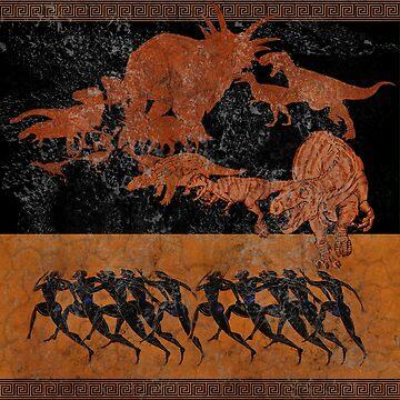 Dinosaruses by VigilanteSilver