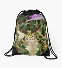Speckled Bird - Beauty in form and color Drawstring Bag