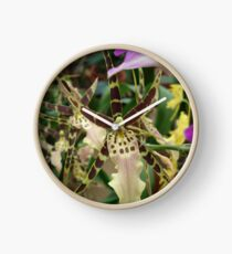 Speckled Bird - Beauty in form and color Clock