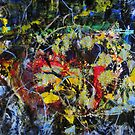5 m.sq. Huge Abstract Sun will shine on our side of the fence Original by Dmitri Matkovsky