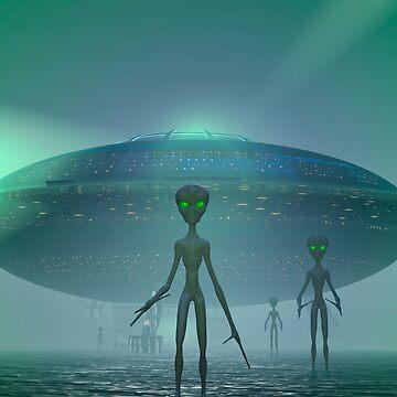 Alien Visitors by fotokatt