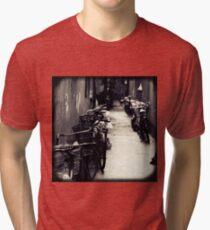 OLD SHANGHAI - Bike Lane Tri-blend T-Shirt