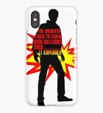 Rory Williams Exploded the Universe iPhone Case/Skin