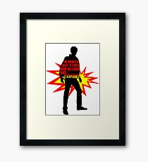 Rory Williams Exploded the Universe Framed Print