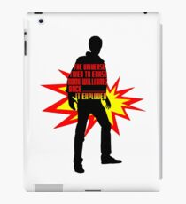 Rory Williams Exploded the Universe iPad Case/Skin