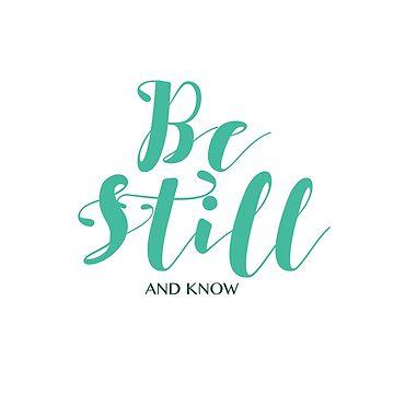 Be Still (Green) by beautifullove
